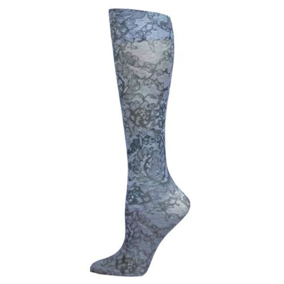Blue Jay Fashion Socks (Pr) Midnight Lace 8-15Mmhg - Ladies Socks