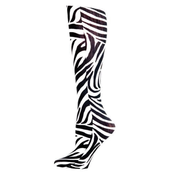 Blue Jay Fashion Socks (Pr) Zebra 8-15Mmhg - Ladies Socks