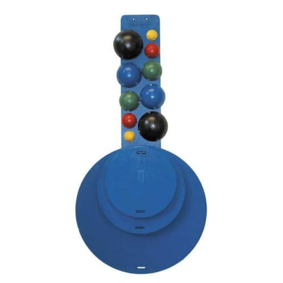 Clinic Mvp 4-Board Set W/ 10 Ball Holder & Balls - Balance Training