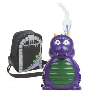 Dexter Dragon Compressor Nebulizer Kit - Green/purple - Compressor Nebulizer Kit