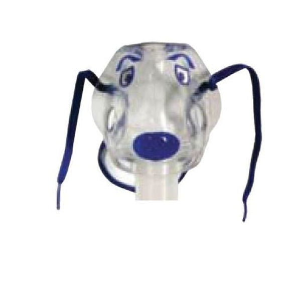 Disposable Nebulizer W/pediatric Spike Mask & 7 Tubing - Nebulizers & Accessories
