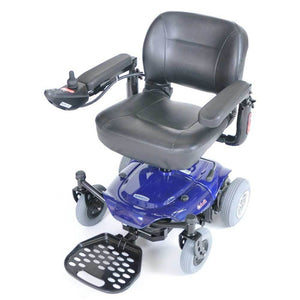 Drive Medical Cobalt Travel Power Wheelchair-Blue - Gym Equipment