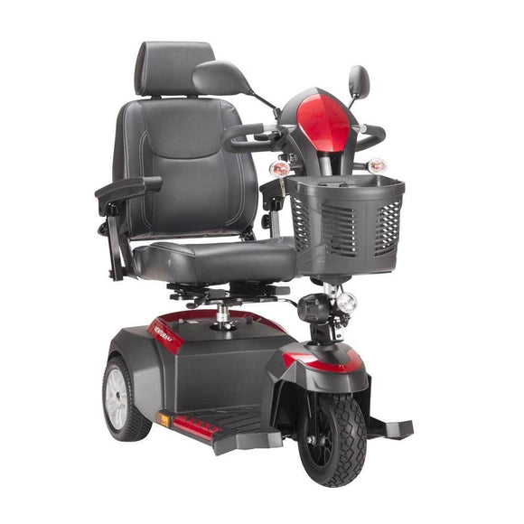Drive Medical Ventura Power 3-Wheel Mobility Scooter-Captains Seat-20 - Scooters