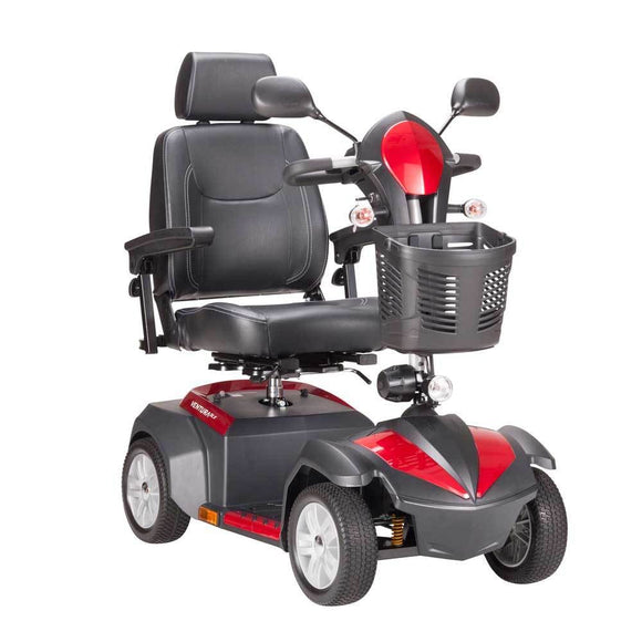 Drive Medical Ventura Power 4-Wheel Mobility Scooter-Folding Seat-18 - Scooters