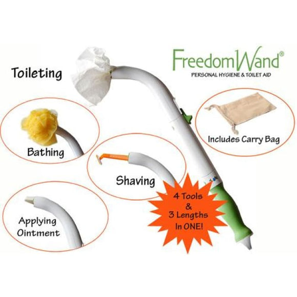 Freedom Wand - Toileting