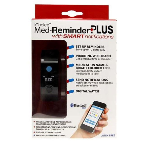 Ichoice Med-Reminder Plus W/smart Notifications - Medication Reminder