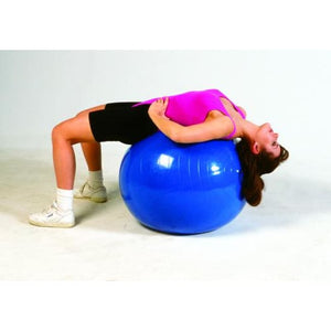 Inflatable Pt Ball-30In 75 Cm- Red - Exercise Balls