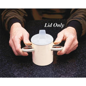 Lid Only For Hand-To-Hand Mug - Drinking Aids