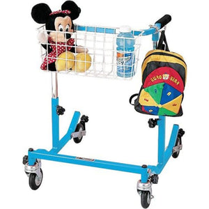 Pediatric Anterior Safety Roller - Blue - Walkers - Safety Rollers