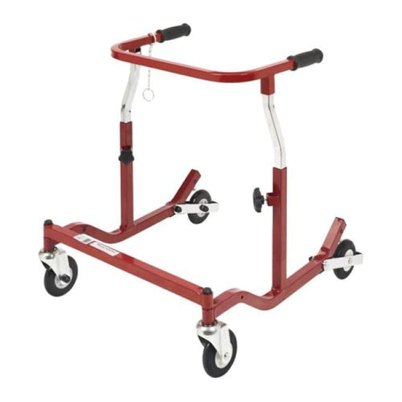 Pediatric Anterior Safety Roller X-Wide Burgundy - Walkers - Safety Rollers