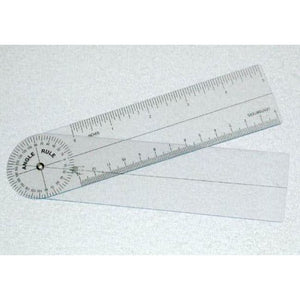 Plastic Angle Rule Goniometer 7 360 Degrees - Goniometers