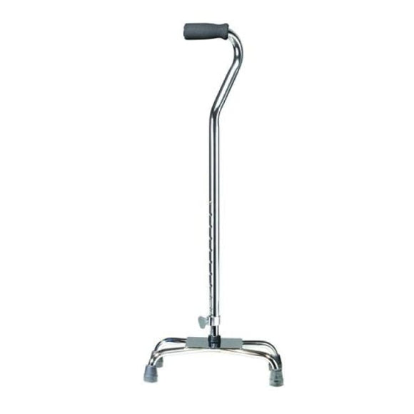 Quad Cane-Small Base W/vinyl Grip - Canes - Quad