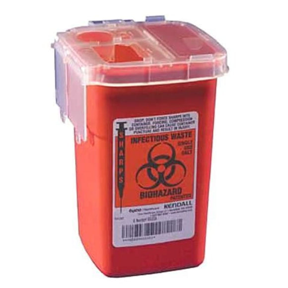 Sharps 1Qt (Phlebotomy Cont) - Sharps-A-Gator Disposal System