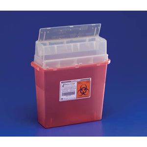 Sharps-A-Gator- Wall Mounted Unit- 5 Quart - Sharps-A-Gator Disposal System