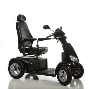 Silverado Extreme 4-Wheel Full Suspension Electric Scooter - Black - Scooters