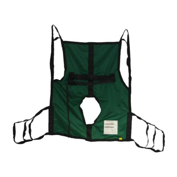 Sling One-Piece W/commode Opening & Position Strap Xl - Patient Lifters Slings Parts