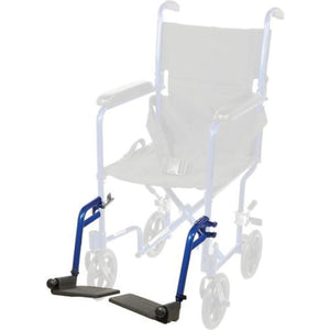Swing Away Detachable Footrest For Aluminum Transport Chair - Wheelchair - Transport