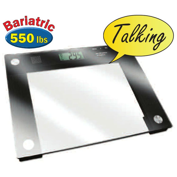 Talking X-Wide Glass Scale - Talking Scale