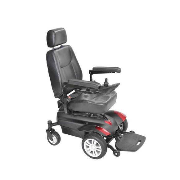 Titan Front Wheel Power Wheelchair-Full Back Seat-18 - Wheelchairs - Power