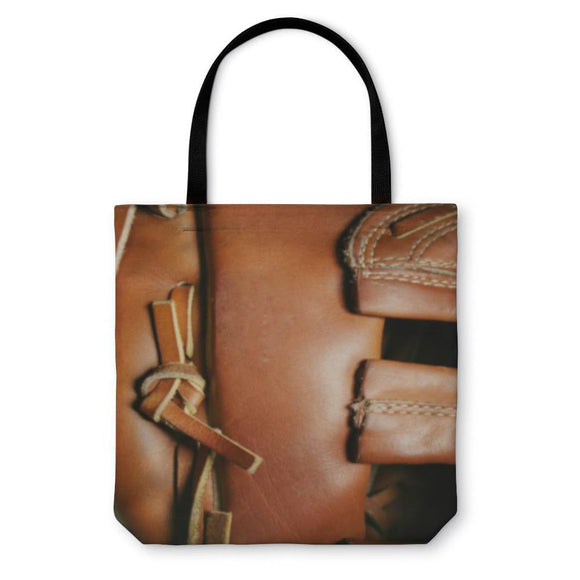 Tote Bag Baseball Glove - Tote Bag