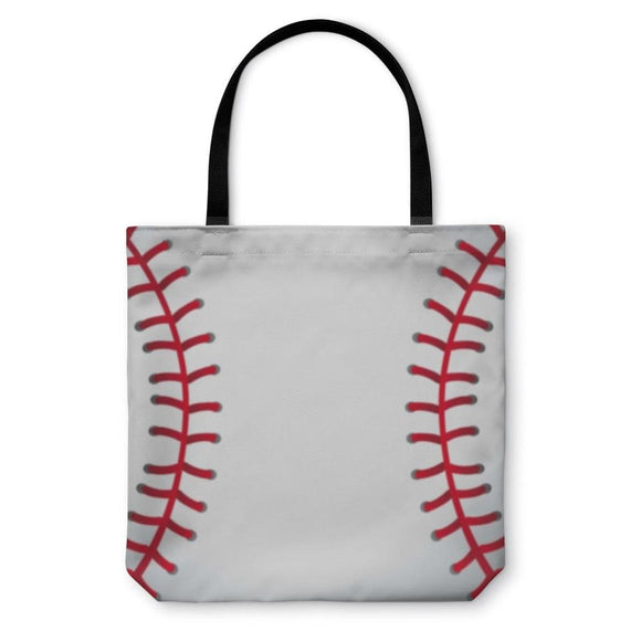 Tote Bag Baseball With Seams - Tote Bag
