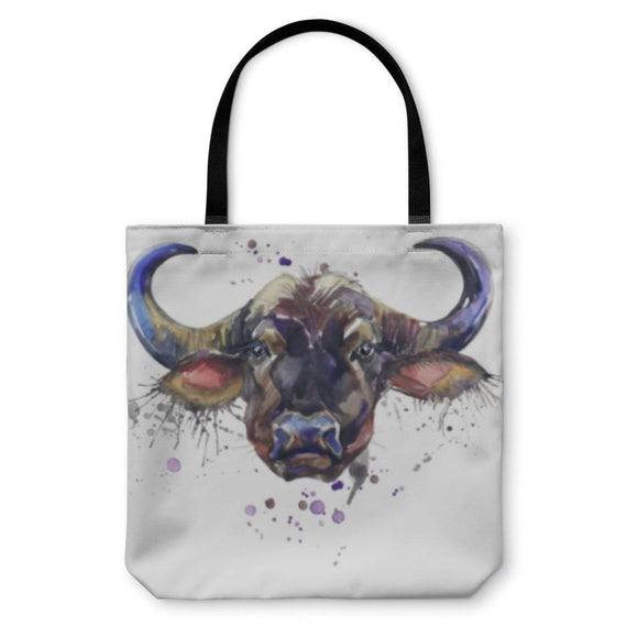 Tote Bag Buffalo Illustration - Tote Bag
