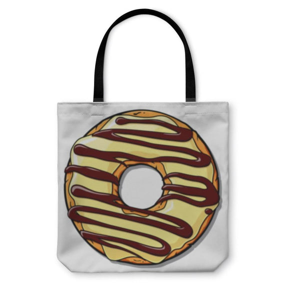 Tote Bag Donut Illustration - Tote Bag