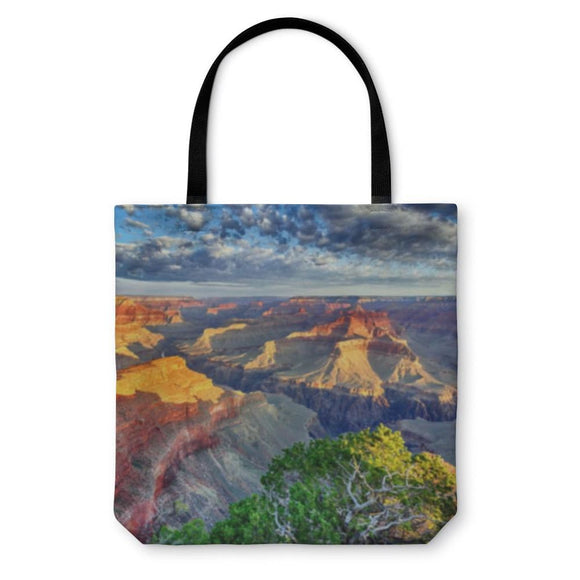 Tote Bag Morning At Grand Canyon - Tote Bag