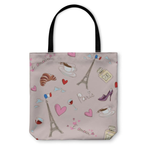 Tote Bag Paris Pattern - Tote Bag