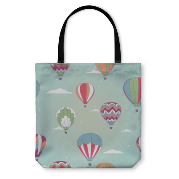 Tote Bag Retro Hot Air Balloon - Tote Bag