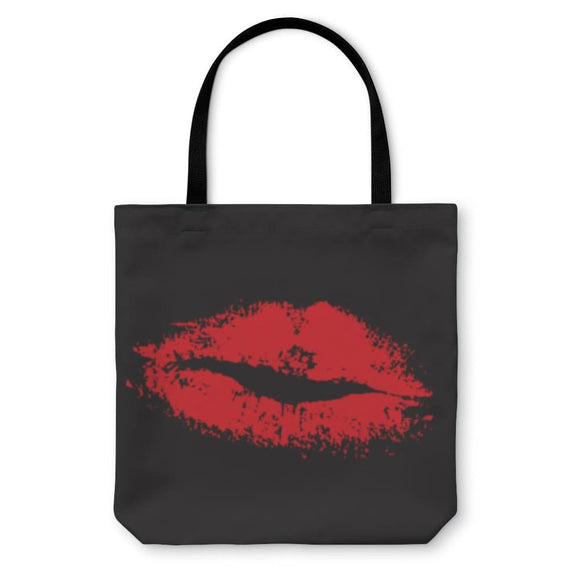 Tote Bag Sexy Lips Pattern - Tote Bag