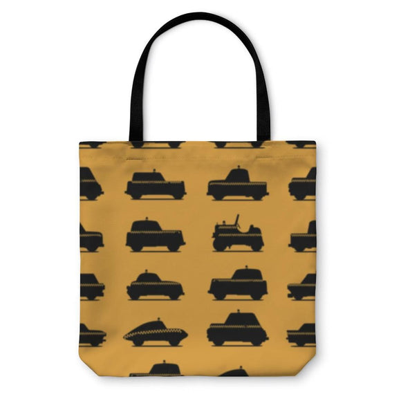 Tote Bag Taxis Pattern - Tote Bag