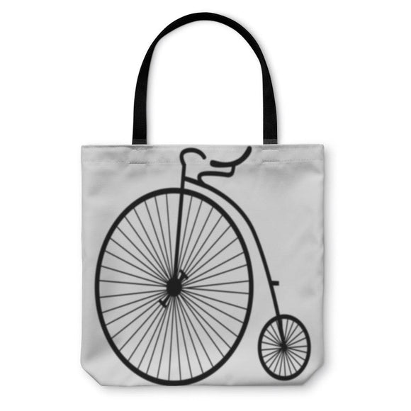 Tote Bag Vintage Old Bicycle - Tote Bag