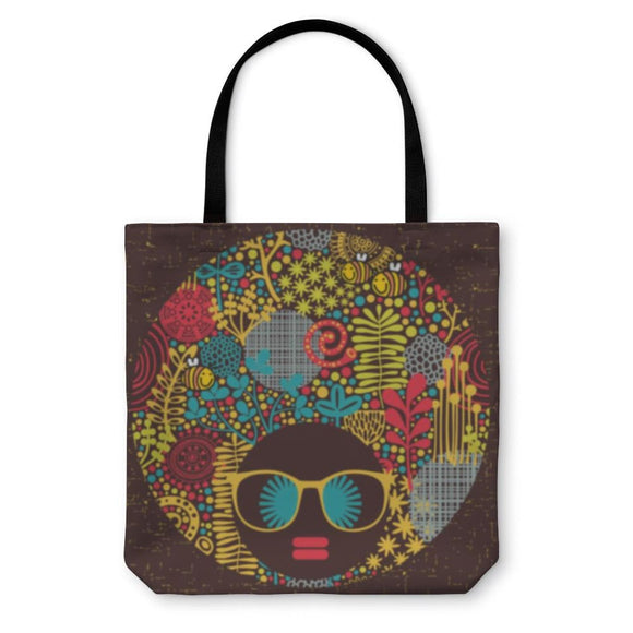 Tote Bag Woman W/strange Hair - Tote Bag