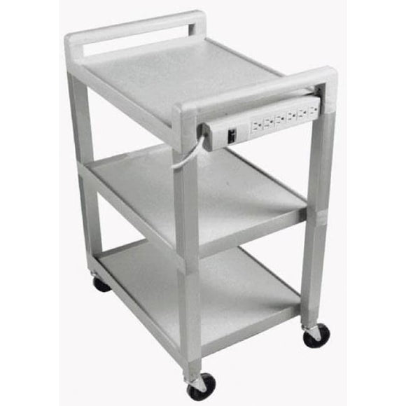 Utility Cart With Power Strip W/o Drawer - Carts - Utility/equipment