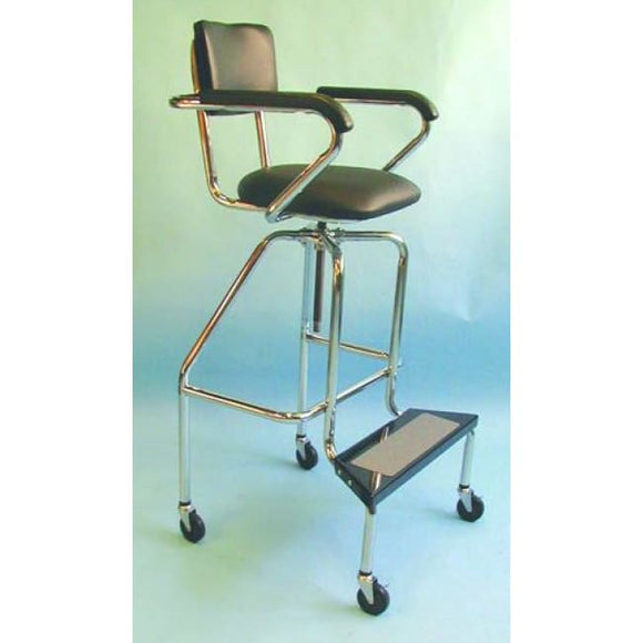 Whirlpool Chair - Low-Boy With Wheels - Whirpool Chairs/tables