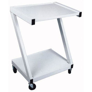 Z-Cart Steel 2-Shelf White - Carts - Utility/equipment