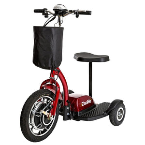 Zoome 3-Wheel Recreational Power Scooter - Scooters