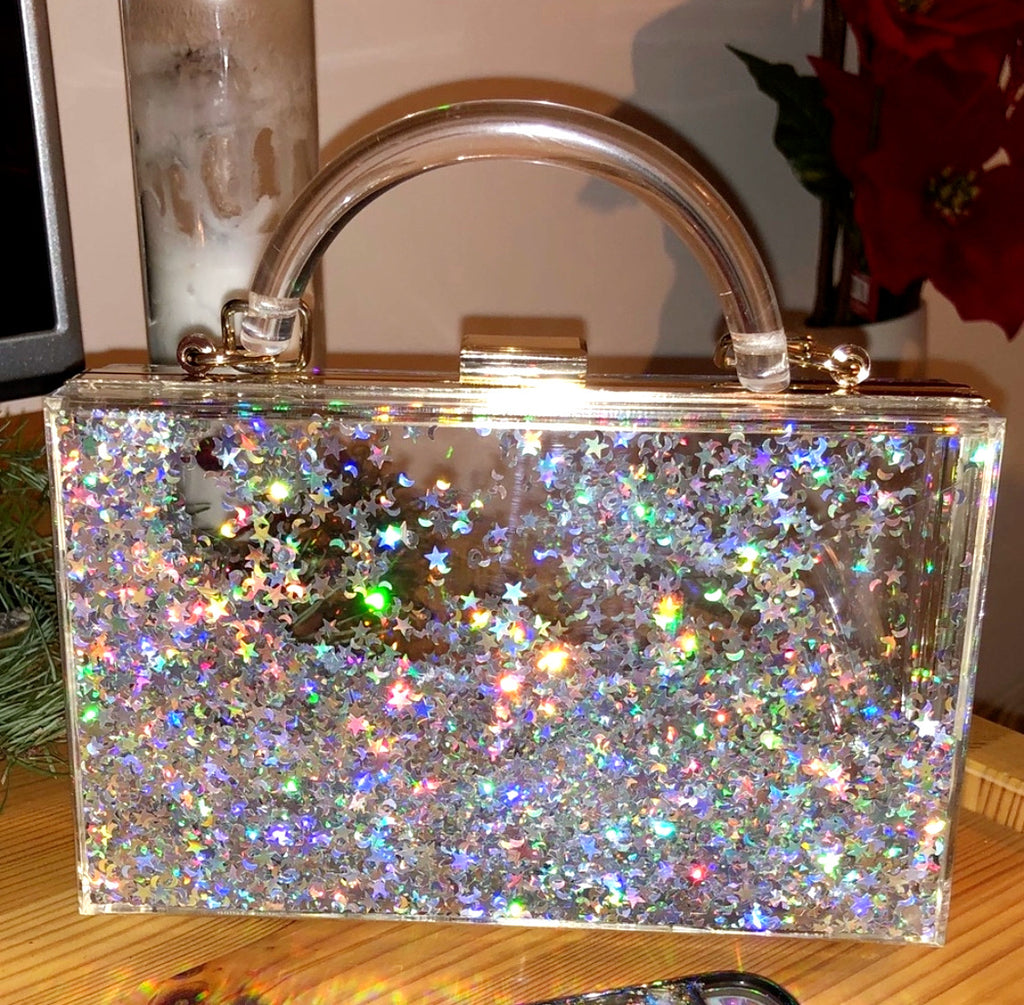 Liquid Waterfall Purse