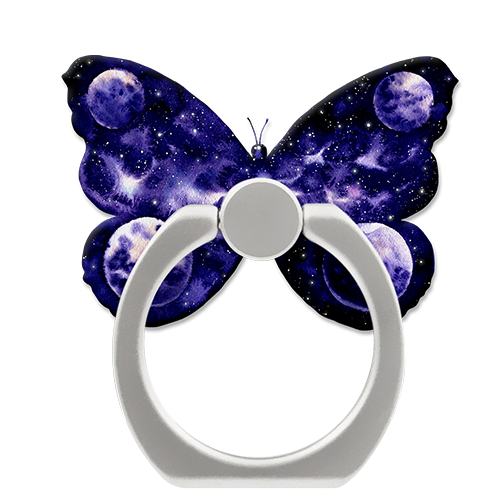 Butterfly Galaxy Ring Grip