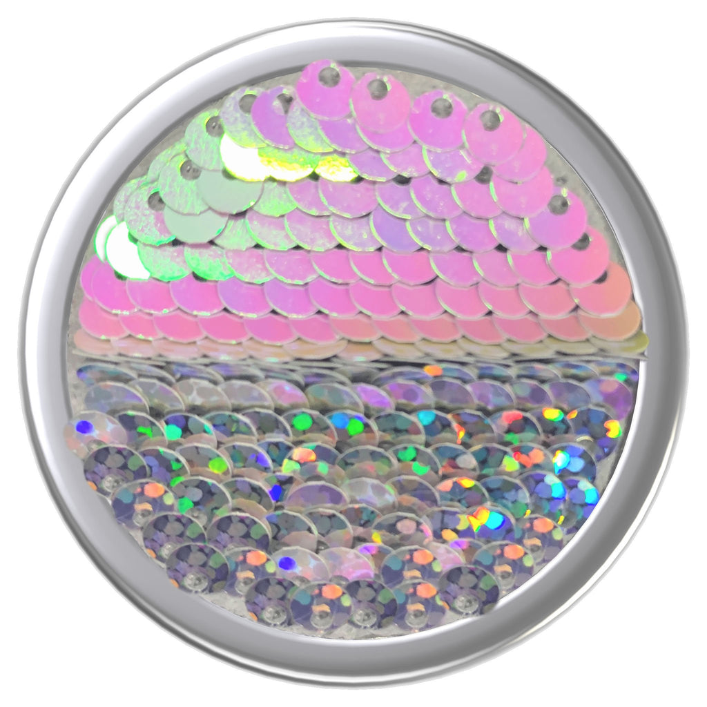 Reversible Sequins - Iridescent Pink