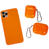 Neon Orange AirPods Pro Case