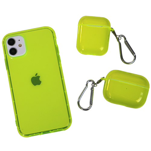 Neon Yellow AirPods Pro Case