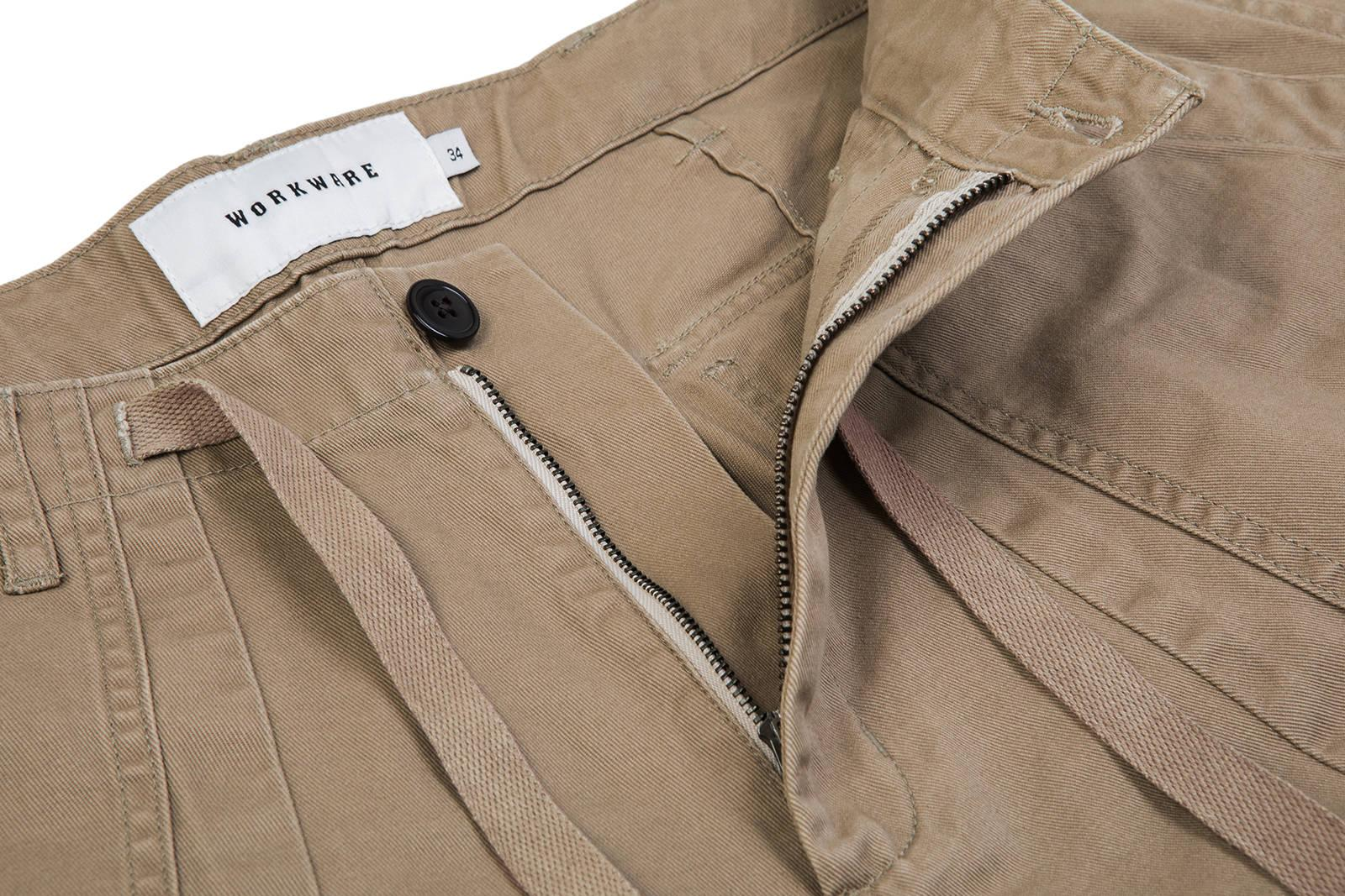 BAKER BALLOON PANTS - KHAKI