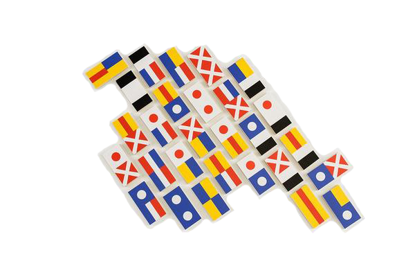 DOMINOES - FLAG