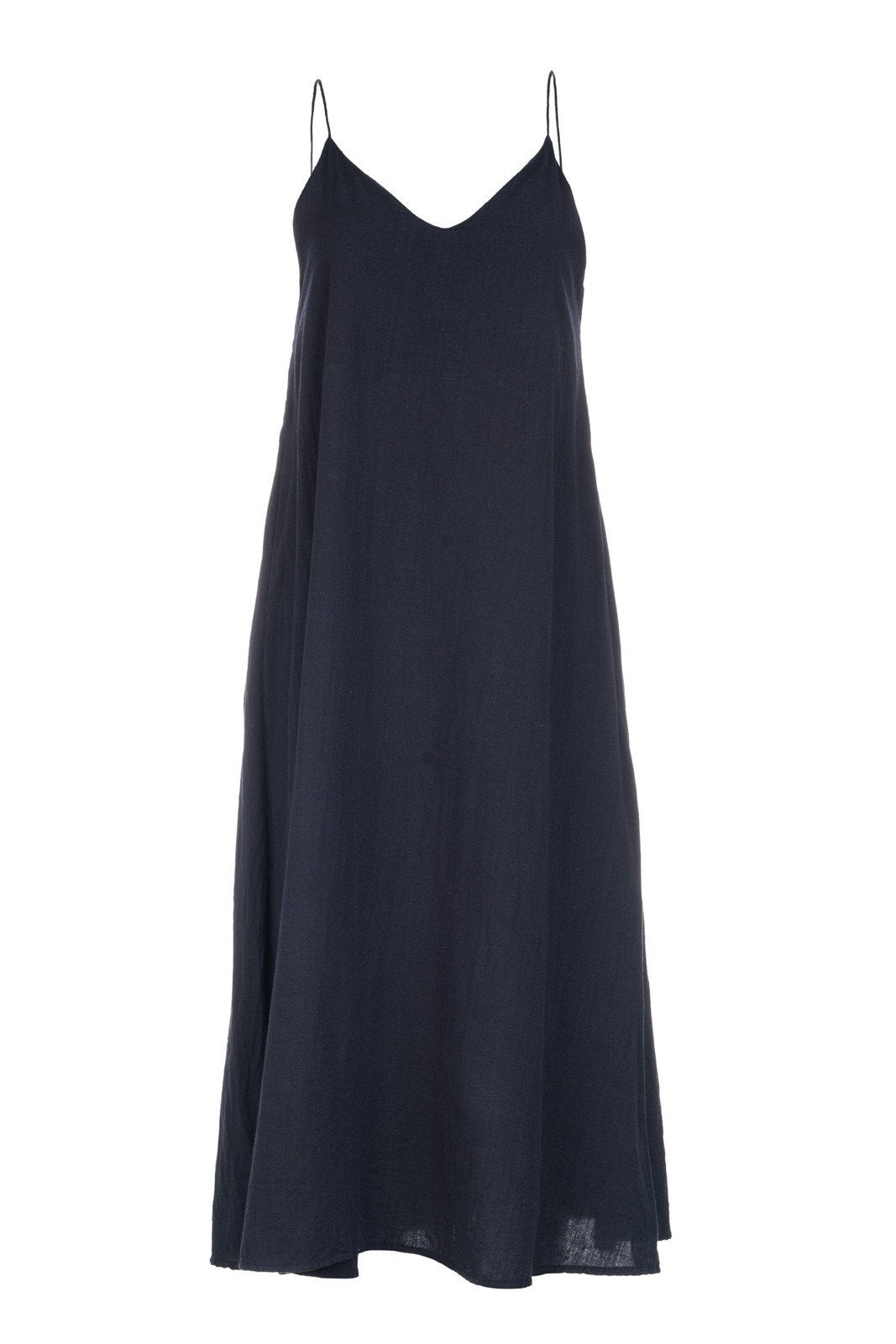SLIP DRESS - BLACK