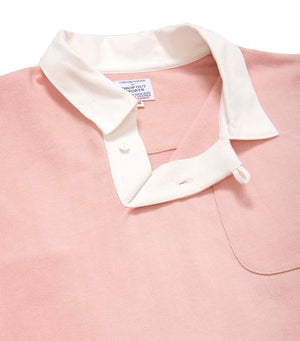 DROP OUT SPORTS RUGBY SHIRT - PINK