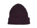 DYAD BEANIE- NAVY/RED