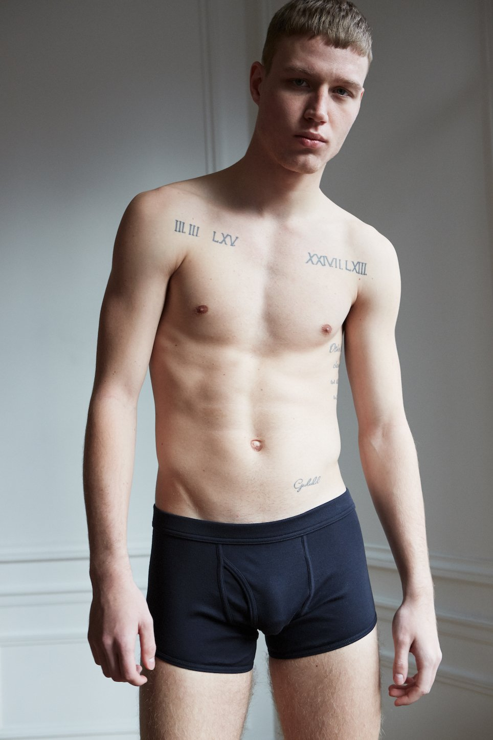 ELM SHORT BOXER BRIEF - DARK NAVY