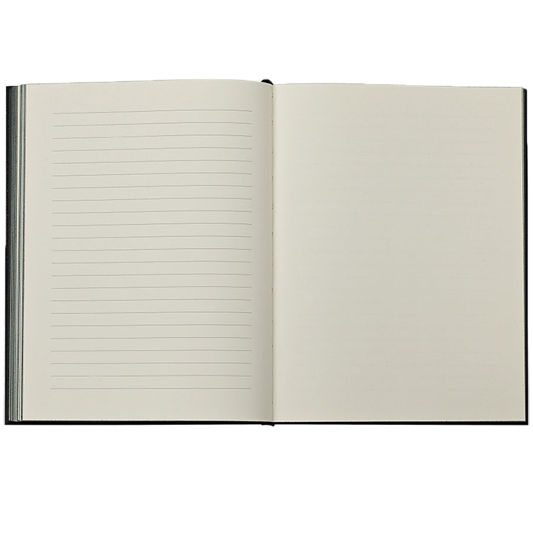 GUEST BOOK, BLACK LEATHER
